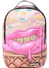 bag,ice cream,grillz,sprayground,sprinkes,waffles,dope wishlist
