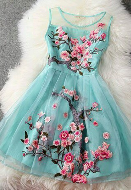 2015 new style organza short prom dresses, flower dresses, summer dresses