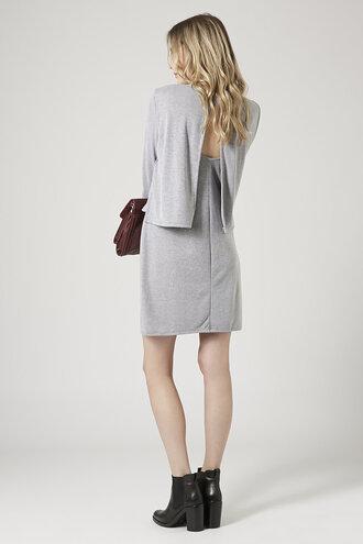dress black dress topshop everyday everyday dress grey grey dress