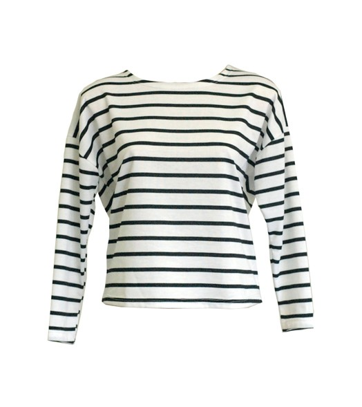 Loose Fit Striped T-shirt