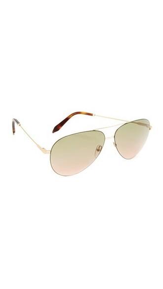 classic sunglasses aviator sunglasses gold pink khaki