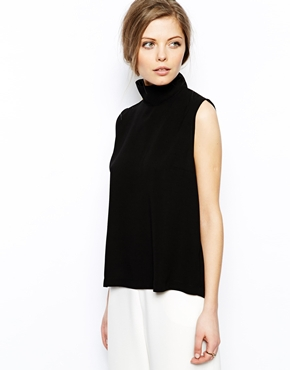 ASOS | ASOS High Neck Sleeveless Top at ASOS