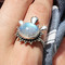 Devils highway rainbow moonstone ring by shop dixi