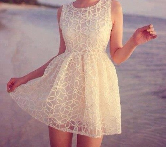dress cream white or