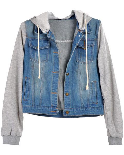 Denime sweater jacket