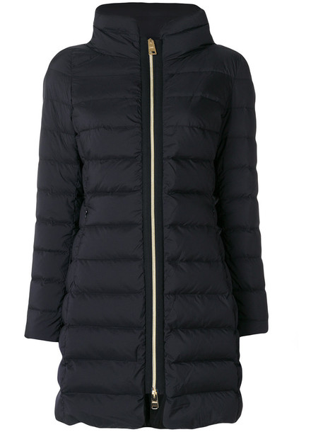 Herno coat zip women black