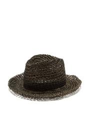 hat,fedora,black