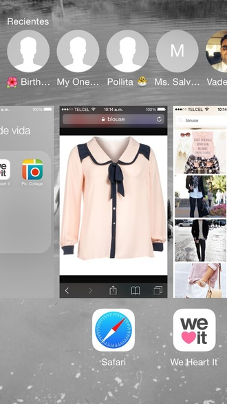blouse blair waldorf clothes cute blouse