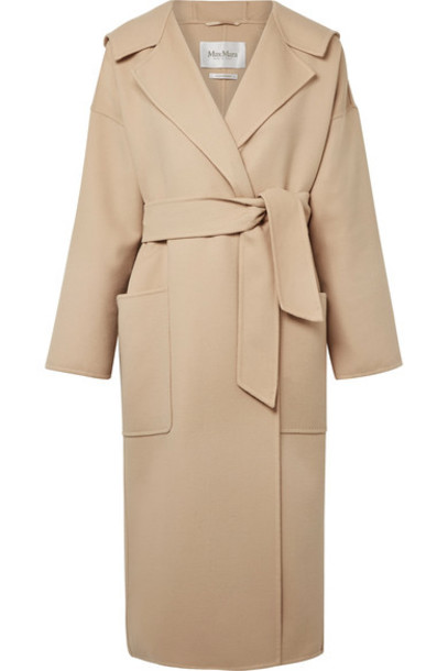 Max Mara coat wool beige