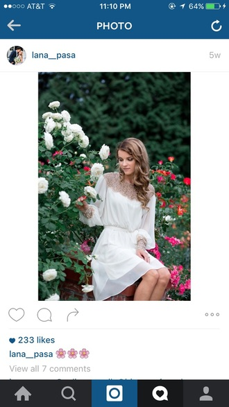 dress beautiful beaded elegant white dress gorgeous dress classy dress flowy