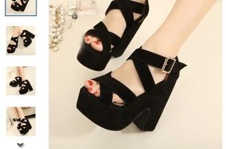 shoes black platforms prom shoes wedges shoes black wedges high heels platform shoes glitter black heels