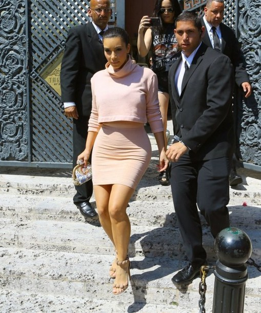 kim kardashian two-piece