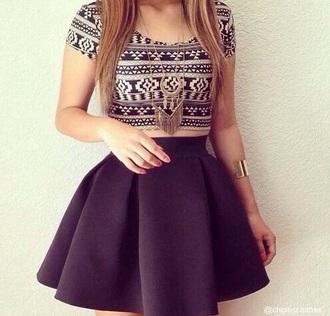skirt black skirt poofy skirt tumblr skirt tumblr outfit style t-shirt dress bag