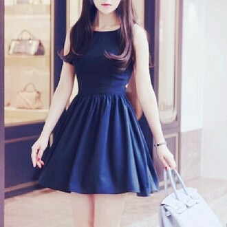 dress blue dress blue blue mini dress mini dress kawaii kawaii dress girly cute pretty style clothes beautiful bag blue bag