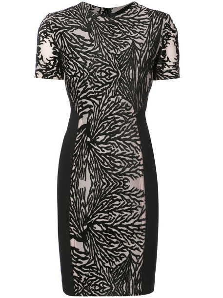 Yigal Azrouel dress women spandex black coral