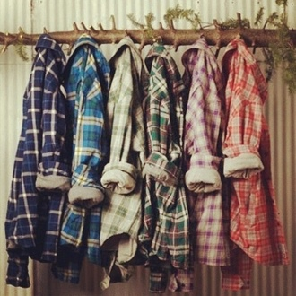 jacket flannel shirt red flannel shirt cute shirt plaid shirt chequed blue grey violet black oversized green grunge soft grunge vintage 80s style checkered 90s style original plaid button up blouse color/pattern mixed colors shorts pattern t-shirt square cardigan flannel tartan woods lumberjack lumber jack shirt colorful