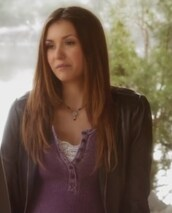 top,purple,henley,nina dobrev,elena gilbert,the vampire diaries,jewels
