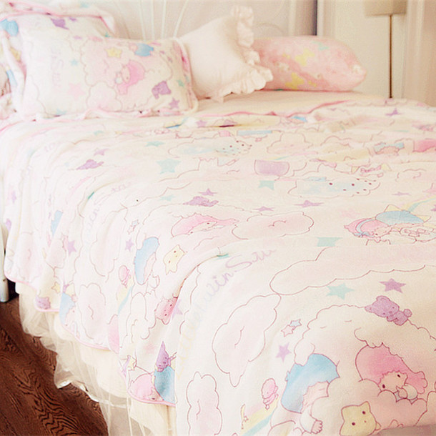 home accessory gemini cute sweet pillow carpet ice cream