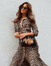 dress,midi dress,maxi dress,rocky barnes,animal print,spring dress,spring outfits,sunglasses,purse,blogger,instagram,bag
