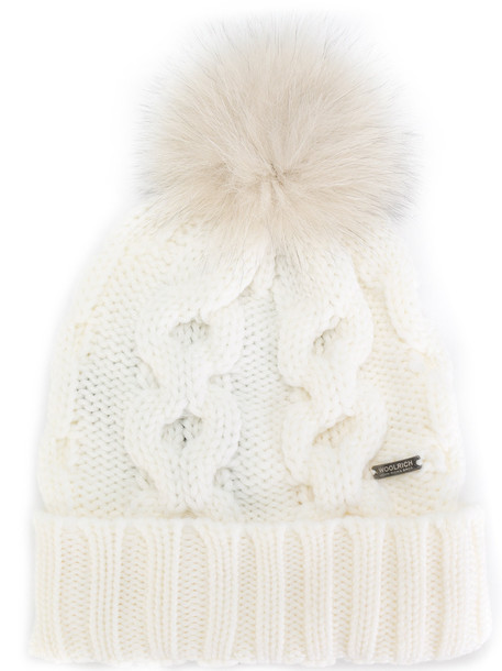beanie knitted beanie white hat