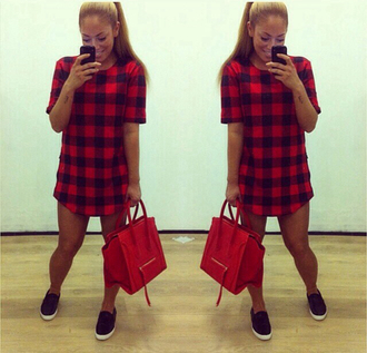 t-shirt flannel tshirt dress oversized t-shirt
