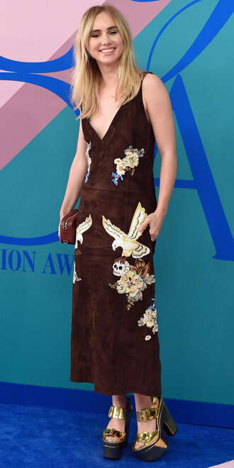dress suki waterhouse maxi dress cfda