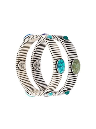 bracelets metallic jewels