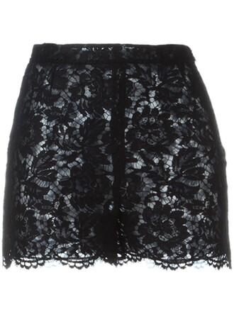 shorts lace shorts lace black