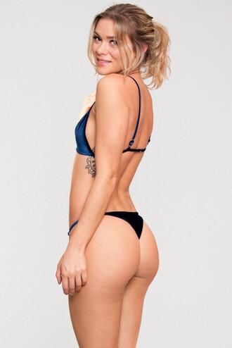 swimwear bikini bottoms blue dbrie swim skimpy bikiniluxe