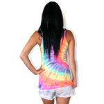 Glamour kills people of the earth girls tank tie dye