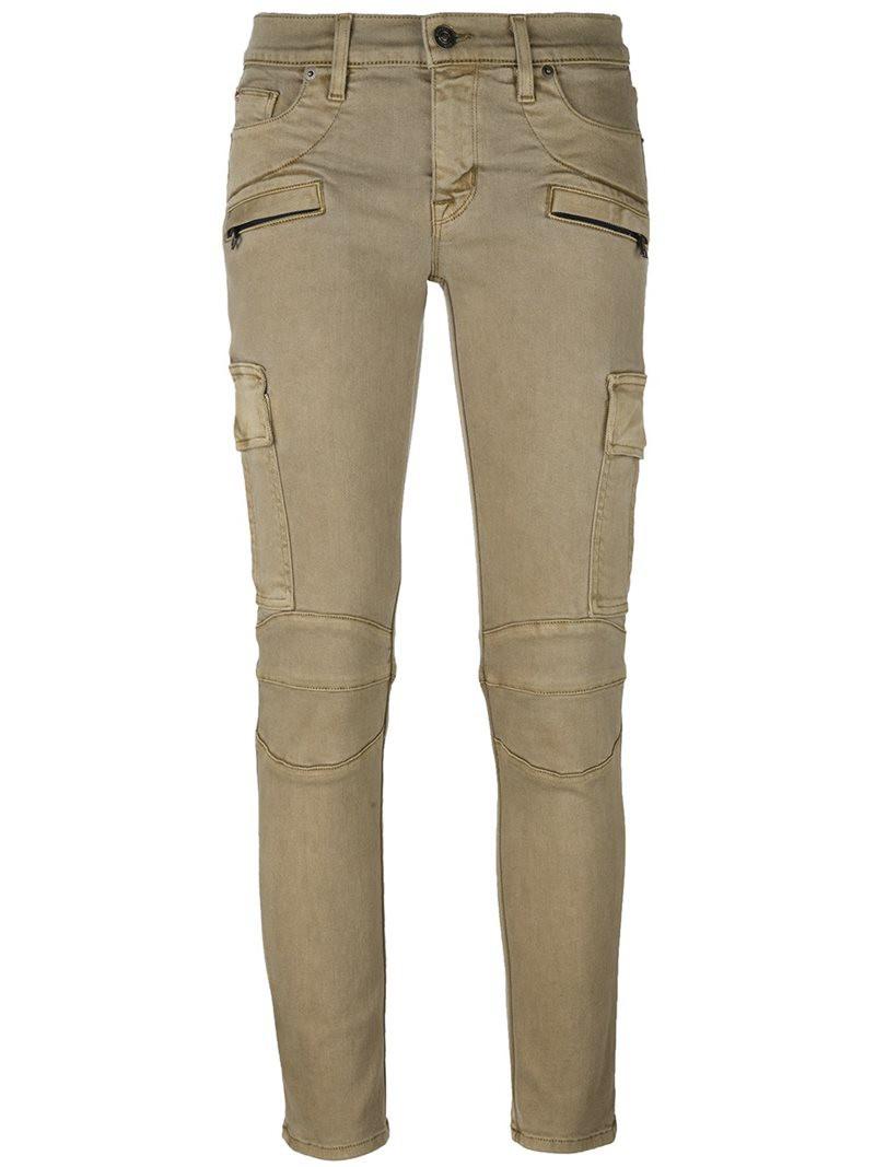 Hudson Nico Mid Rise Super Skinny Jeans - Sunkissed Pink ...