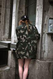 jacket,cap,camouflage