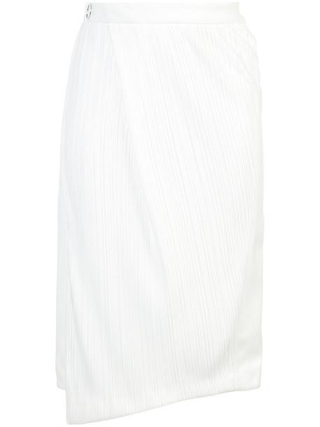 skirt pleated women spandex white
