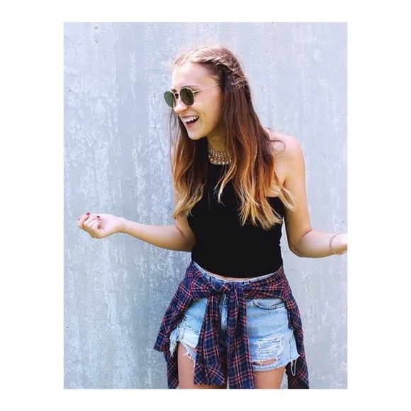 model flannel perfect brandy melville hypster