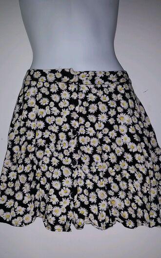 skirt daisy floral skirt daisy skirt girly