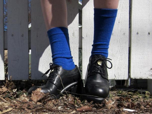 shoes boots black platform shoes
