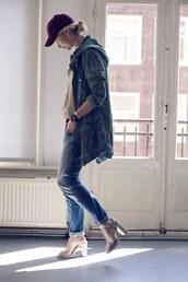 zanita,hat,shirt,jacket,jeans,belt,shoes,jewels,boyfriend jeans