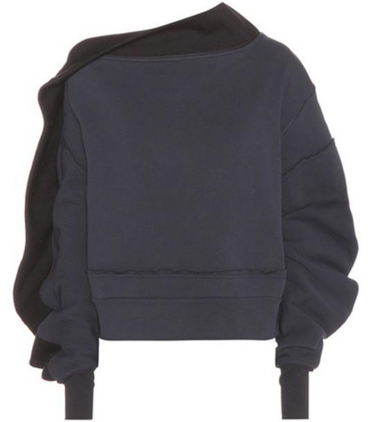 Burberry sweatshirt blue sweater
