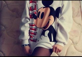 sweater disney sweater disney mickey mouse fashion style