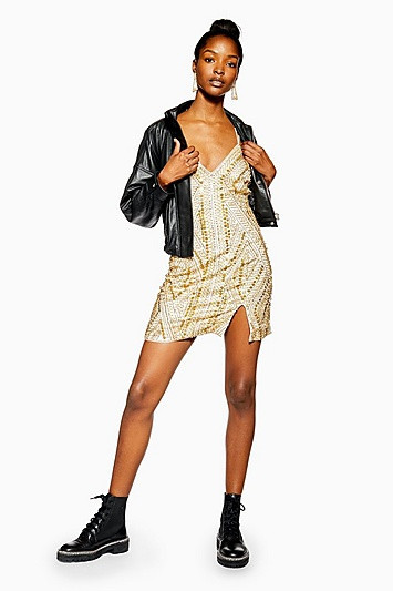 Amina maxi dress