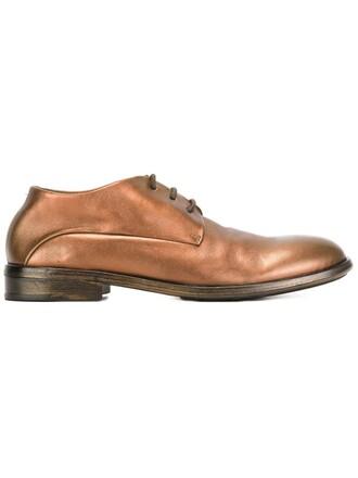 metallic shoes lace-up shoes lace
