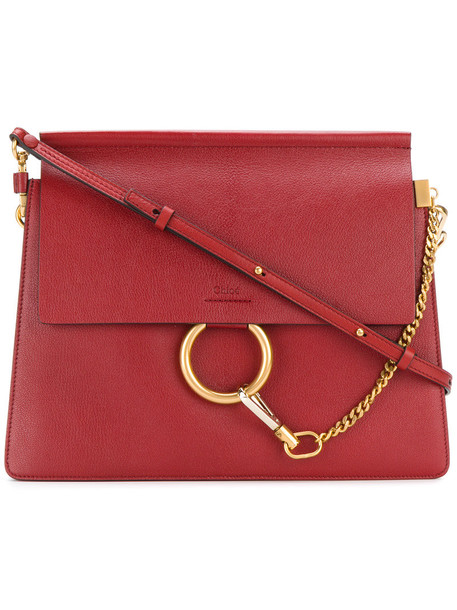 Chloe women bag shoulder bag red