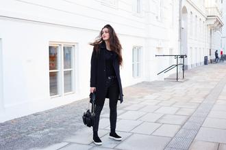 ilirida krasniqi blogger jacket belt shoes pants bag