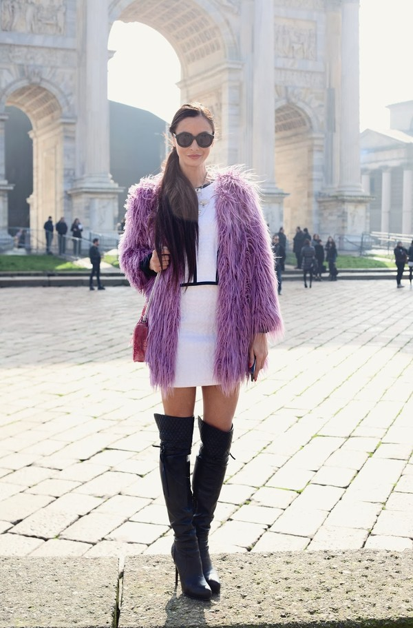 marie zamboli t-shirt skirt shoes bag jacket sunglasses