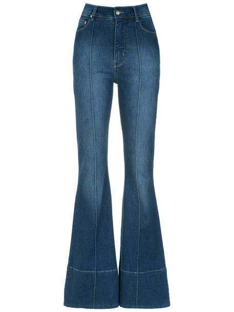 Amapô denim women spandex cotton blue pants