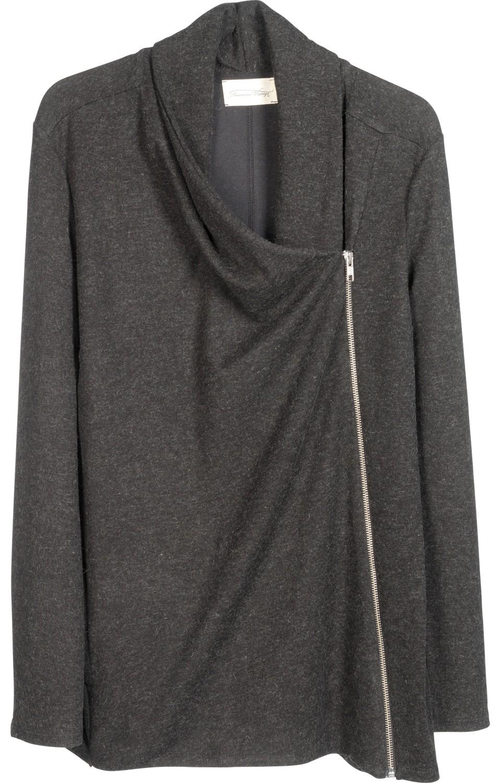 veste maille interlock souple femme. Black Bedroom Furniture Sets. Home Design Ideas