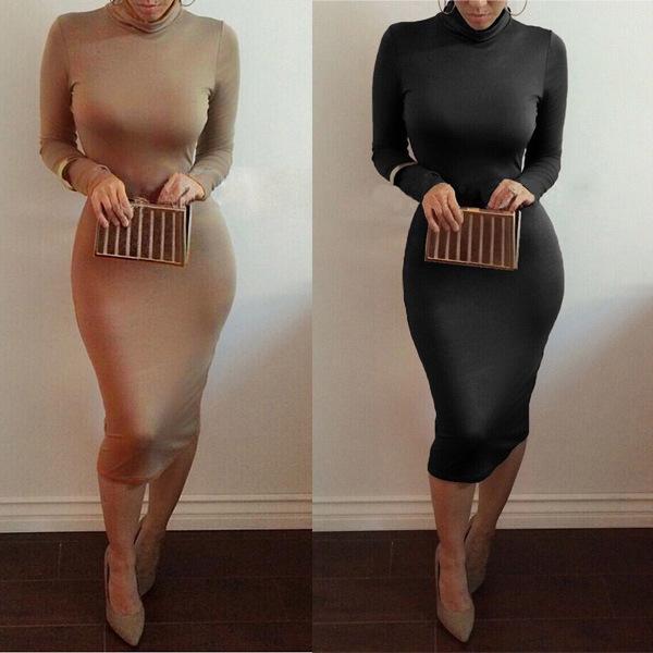 Sexy hot long cute dress show body