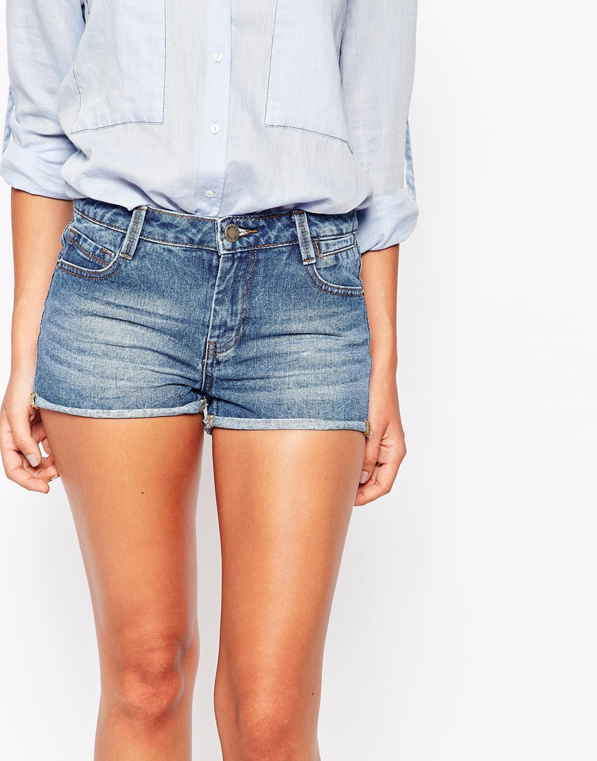 Mini Denim Shorts at asos.com