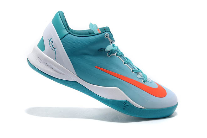Nike Zoom Kobe VIII MC Turquoise/Orange/White/Blue Colorways Men Size Shoes