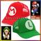 New super mario bros hat golf baseball cap l & m for kid & boy christmas gift | ebay